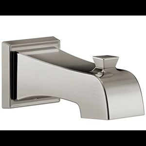 DELTA FAUCETS Ashlyn Tub Spout Stainless Steel NIB